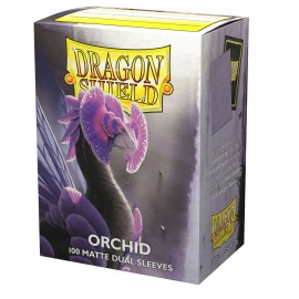 Dual Matte sleeves Dragon Shield (10X100) ORCHID EMME