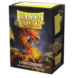 Dual Matte sleeves Dragon Shield (10X100) LIGHTNING AILIA