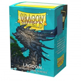 Dual Matte sleeves Dragon Shield (10X100) LAGOON SARAS