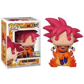 Animation:827 DBS- Super Saiyan God Goku