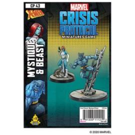 Mystique and Beast: Marvel Crisis Protocol Line