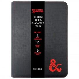 Dungeons & Dragons Premium zippered Book & Character Folio