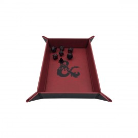 Dungeons & Dragons folding tray of rolling