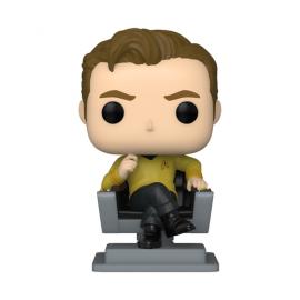 Television :1136 Star Trek -Captain Kirk in Chair