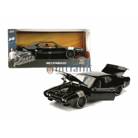 Fast&Furious FF8 1972 Plymouth GTX 1 1:24