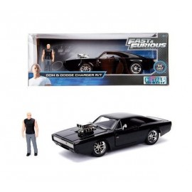 Fast & Furious 1970 Dodge Charger + figure Dominic Toretto
