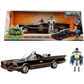 Batman 1966 Classic Batmobile + Batman 1:24