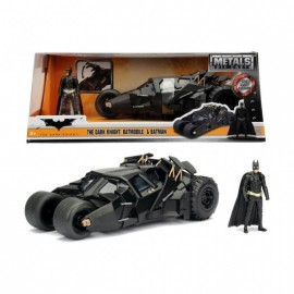 Batman The Dark Knight Batmobile + Batman figurine 1:24