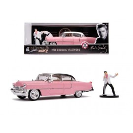 1955 Elvis Presley Cadillac 1:24 + Elvis Figure