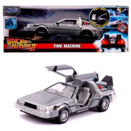 Time Machine Back to the Future 2 flipping wheels + Light.