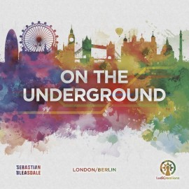 On the Underground: London/Berlin- board game