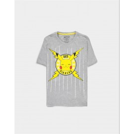 Pokémon - Funny Pika - Men's Core Short Sleeved T-shirt - Medium
