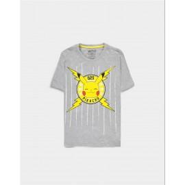Pokémon - Funny Pika - Men's Core Short Sleeved T-shirt - Large