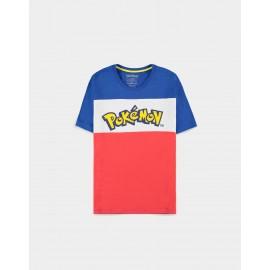 Pokémon - The Logo Colour-block - Men's T-shirt - Large