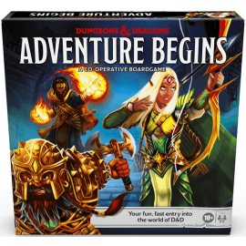 Dungeons and Dragons Adventure Begins game English