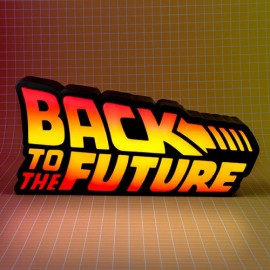 Back To The Future Logo Light