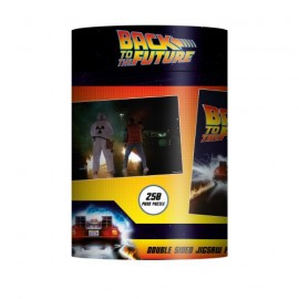 Back To The Future double-sided 250 piece puzzle