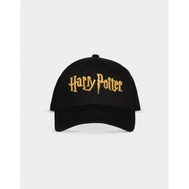 HARRY POTTER - ADJUSTABLE CAP GOLD LOGO