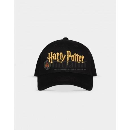 HARRY POTTER - ADJUSTABLE CAP GOLD LOGO