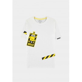 Minions - Men's Short T-shirt White- Small