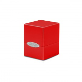 Satin Cube Apple Red