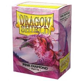 Dragon Shield MATTE -Pink Diamond (10x100)
