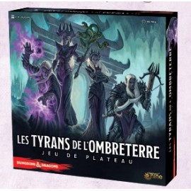 D&D Tyrants of the Underdark boardgame (updated edition) VF