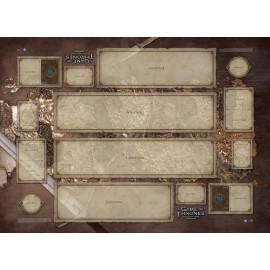 A Game of Thrones LCG Westeros Two-player Playmat