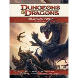 Dungeons & Dragons 4 Draconomicon 2 Metallic Dragons