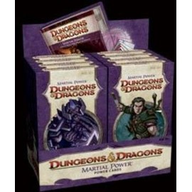 Dungeons & Dragons 4 Martial PowerCards Display (8)