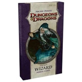 Dungeons & Dragons 4 Arcane Power Cards Wizard