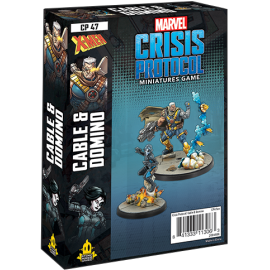 Marvel Crisis Protocol Cable and Domino