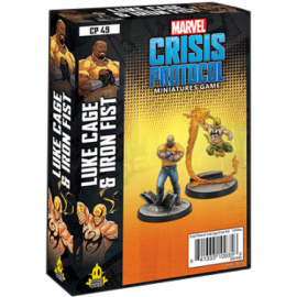 Marvel Crisis Protocol Line: Luke Cage and Iron fist