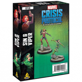 Marvel Crisis Protocol Line Sin and Viper pack