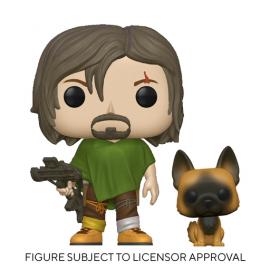 Television: Walking Dead -Daryl w/Dog
