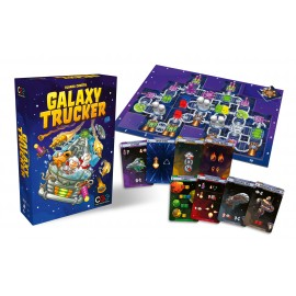 Galaxy Trucker boardgame EN - remastered Launch Kit
