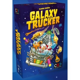 Galaxy Trucker boardgame EN - remastered