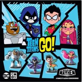 Teen titans GO! Mayhem boardgame