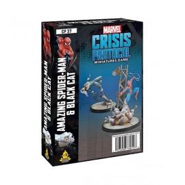 Marvel Crisis Protocol Line - Spiderman Black Kat