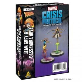Marvel Crisis Protocol Jean Gray and Cassandra nova