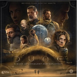 Dune: A Game of Conquest and Diplomacy EN boardgame