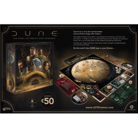 Dune: A Game of Conquest and Diplomacy GER boardgame