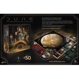 Dune: A Game of Conquest and Diplomacy ES boardgame