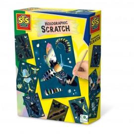 Holografisch scratch - Insecten - Dessins holographiques à gratter - Insectes