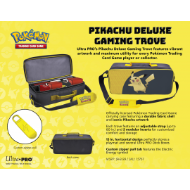 Pikachu Deluxe Gaming Trove