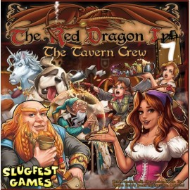 Red Dragon Inn 7 The Tavern Crew Exp&standalone Boxed card game