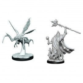 Critical Role Unpainted Miniatures: Core Spawn Emissary and Seer