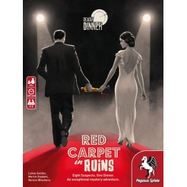 Deadly Dinner – Red Carpet in Ruins - Boardgame