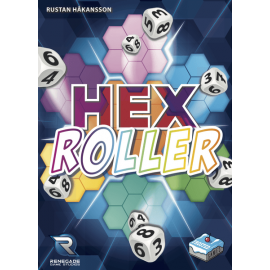 HexRoller (Frosted Games) - Boardgame