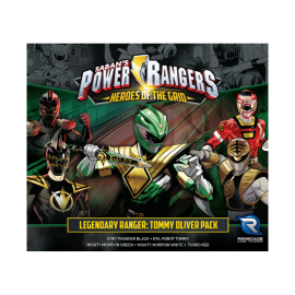 Power Rangers: Heroes of the Grid Legendary Rangers Tommy Oliver Pack